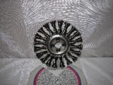 kotouč brusný drátěný copánový průměr 150 x 0,6 x 22,2 mm radiální ocel