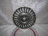 kotouč brusný drátěný copánový průměr 175 x 0,4 x 22,2 mm radiální inox