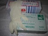 rukavice latexové velikost 8-9 L