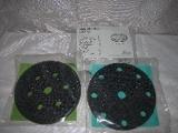 podložka, měkká mezivrstva průměr 150 mm, Interface-PAD 3M 05774, 6 děr, suchý zip, 3M Hookit 50396