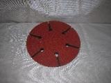 unašeč průměr 150 mm, 6 děr, suchý zip, B 322702 SCHNEIDER