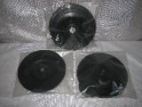 talíř podložný TPF125D8 plastový, průměr 125 mm, stopka 8 mm