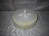 kotouč, houba leštící molitan, bílá, průměr 150 x 50 mm, závit M14