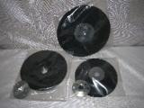 talíř podložný TPF125M14 plastový, průměr 125 mm, závit M14