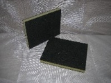 houbička brusná flexibilní 2 - stranně posypaná 123 x 96 x 12,5 mm P120 SW502 KLINGSPOR