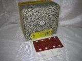 pásek brusný na suchý zip 80 x 133 mm P120 PS22K KLINGSPOR