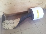 role brusný papír 200 x 30000 mm P40 PS19F KLINGSPOR