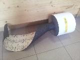 role brusný papír 200 x 50000 mm P60 PS19F KLINGSPOR