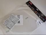 zorník náhradní, štítu CA3, polykarbonát 710330 (starý model 700330) MALINA SAFETY