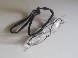 brýle ochranné Stellar čiré se šňůrkou na krk