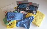 utěrka leštící 3M 60668 (50400, 50486, 50489) žlutá, modrá, růžová