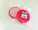 kotouč, houba leštící průměr 150 x 25 mm, suchý zip, červená, ROBERLO