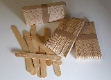 lopatky dřevěné 150 mm (balení 50 ks)
