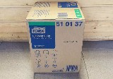 utěrka textilní jemná TORK 510137, role, 32x38cm, 400 útržků
