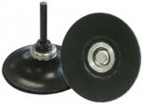talíř podložný, QMC 555 soft, průměr 76 mm, stopka 6 mm, KLINGSPOR