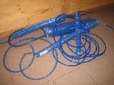 hadice spirálová PU 5 x 8 mm x 8 m